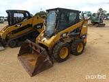 2012 Cat 226B3 Skid Steer, s/n MWD03352: Encl. Cab, Meter Shows 1670 hrs