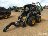 2006 New Holland LS185 Skid Steer, s/n N6M436112: Rubber-tired, w/ Boom Pol