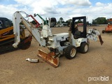 Bobcat 3023 4WD Trencher/Vibratory Plow, s/n 508011443: w/ Backhoe Attachme