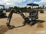 2014 Terex TC16 Mini Excavator, s/n TC00162972: 4-post Canopy, 15