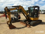 2010 Cat 304CCR Mini Excavator, s/n FPK06046