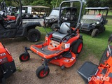Kubota ZG227A-54 Zero-turn Mower, s/n 55344: Meter Shows 408 hrs