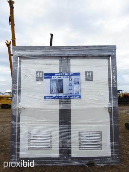 Unused 2020 Bastone Portable Toilet: Double Closet, 110V, ID 42838
