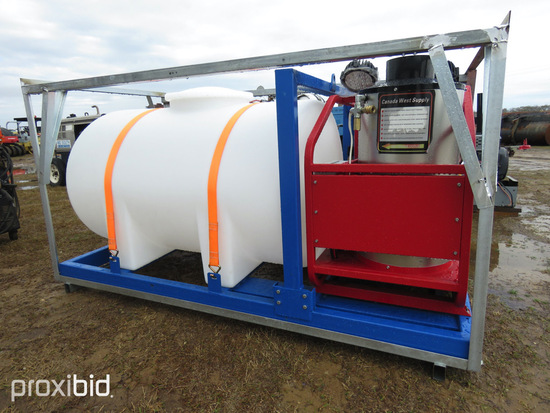 Unused 2020 4000 psi Hot Water Pressure Washer: w/ Tank, ID 42827