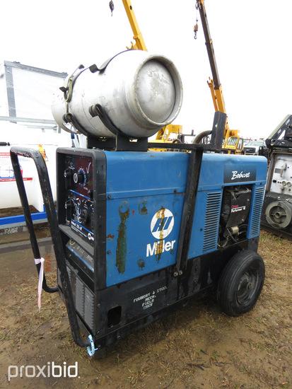 Miller Bobcat 225NT Welder/Generator, s/n KH517590: 8000W, CC/CV-AC/DC, 118