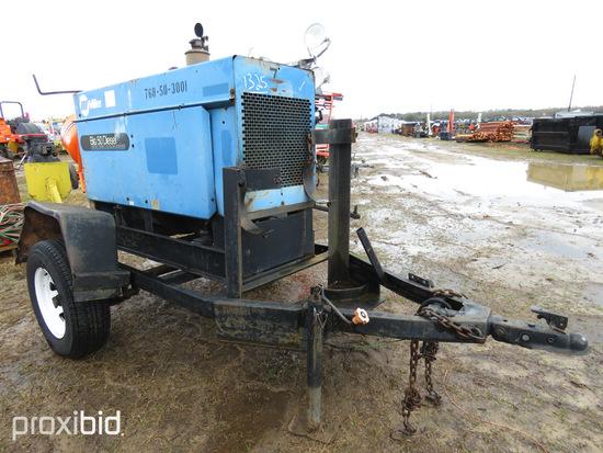 Miller Big 50 Welder/Generator, s/n KC281759: Diesel, Trailer-mounted (No T