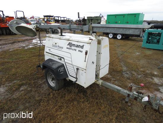 Allmand Night Lite Pro 813 Light Plant, s/n 2030PRO05: ID 42703