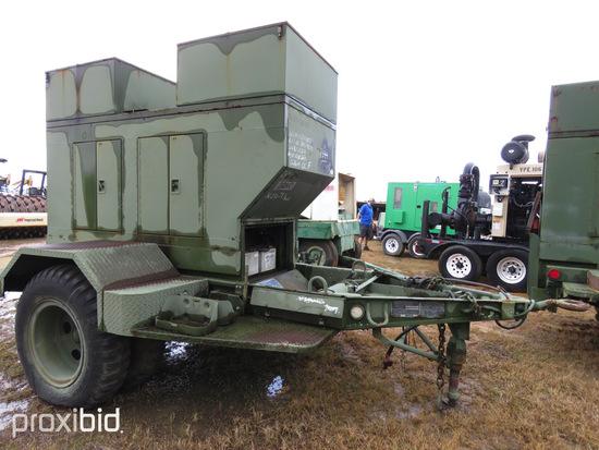 15KW Military Generator, s/n ASK-15-0410: Model MEP-004AAS, Diesel, Trailer