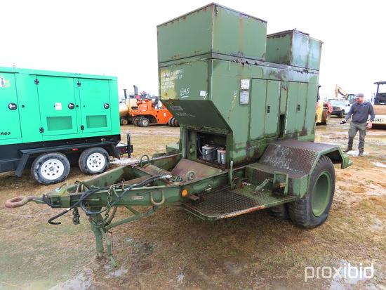 15KW Military Generator, s/n ASK-15-0415: Model MEP-004AAS, Diesel, Trailer