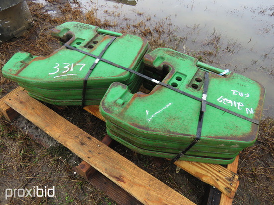 Suitcase Weights for John Deere: ID 30217