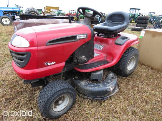 Craftsman LT3000 Lawn Tractor, s/n C027942: ID 42779