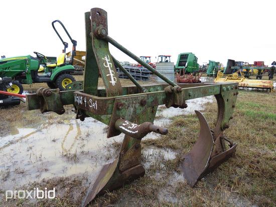 John Deere 2-row Bottom Plow: ID 30188