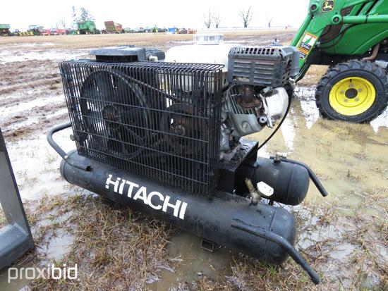 Hitachi Air Compressor, s/n D800011: ID 30278