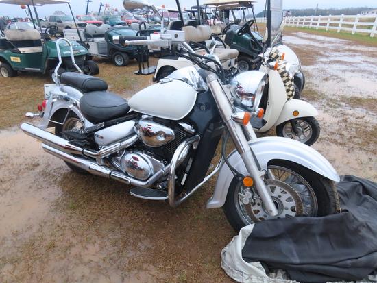 2007 Suzuki C50 Boulard Motorcycle, s/n JS1VS55A472112226: 15045 mi., ID 43