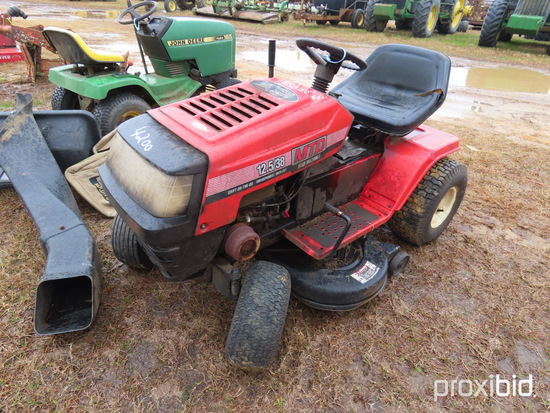 "MTD Yard Machine Mower, s/n 50179: 38"" Cut, 12.5 hrs, ID 30131"
