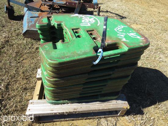 John Deere Tractor Weights