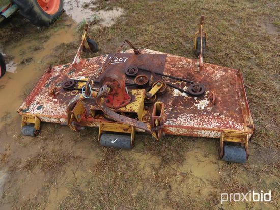 King Cutter 6' Finishing Mower, s/n 250083: ID 42035