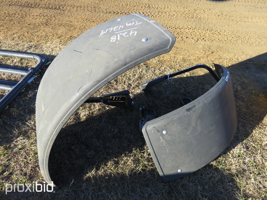 (2) Front Fenders for Challenger Tractor: ID 42619