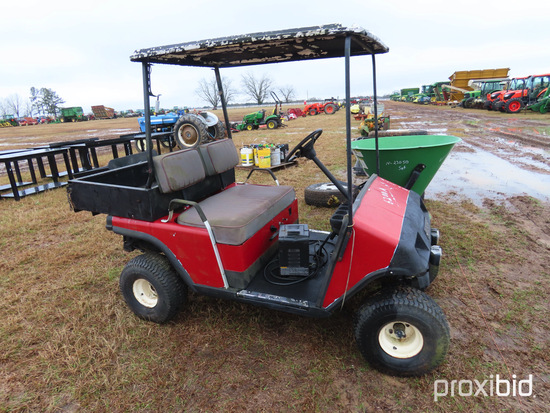 EZGo Golf Cart w/ Charger: ID 43431