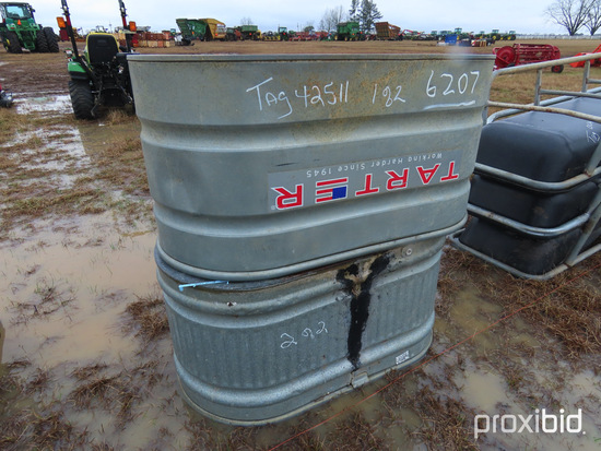 (2) Plastic Water Troughs: ID 42512