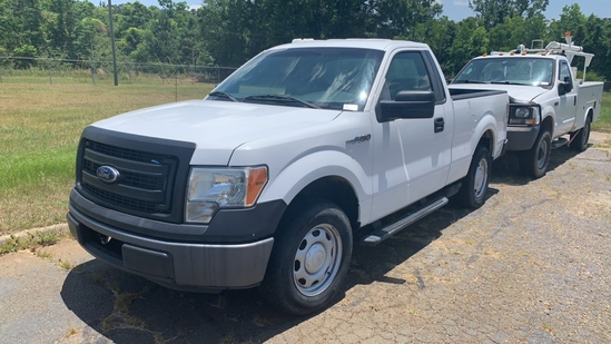 2013 FORD F150 WHITE MILES AS SHOWN 91323 VIN 1FTMF1CM6DFC05944
