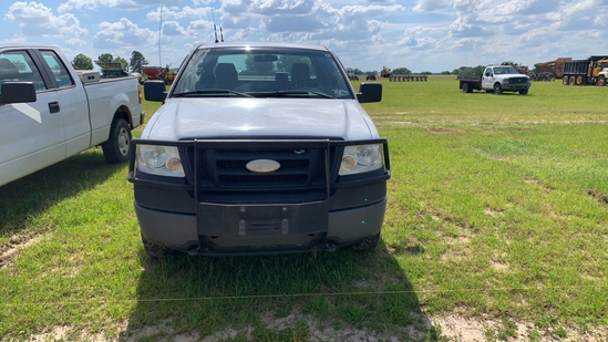 2007 FORD F150 EXTENDED CAB, WHITE, s/n 1TRX14W17FA77684  (OWNED BY AL. POW