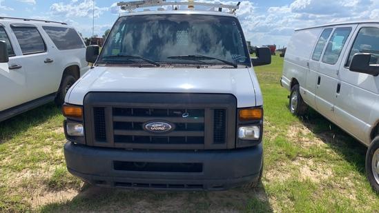 2012 Ford E-350 Service Van, White, Showing 144541 Miles, ALPO# 36337, Vin