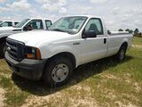 2007 FORD F250 TRUCK MILES AS SHOWN 82384 VIN 1FTNF20547EA01919