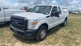 2012 FORD F250 TRUCK WHITE VIN 1FT7X2A61CEB54667