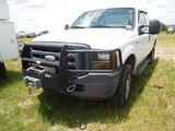 2006 FORD F250 TRUCK VIN 1FTSX21577EA72594