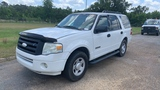 2008 FORD EXPEDITION WHITE MILES AS SHOWN 307762 VIN 1FMFU15598LA63418