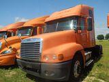 2007 Freightliner CST 120, Orange, Vin - 1FUJBBCK57LU46475