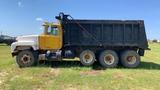 1999 Mack RD6885 Dump Truck, Yellow, Showing 574511 Miles, Vin - 1M2P267C9Y