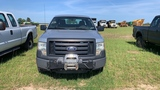 2010 FORD F150 EXTENDED CAB, MFWD, WITH WENCH, SILVER, 240,995mi.  s/n 1FTE