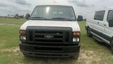 2012 FORD E-SERIES VAN E350, WHITE, 126,258mi. s/n 1FTSS3EL6CDB06182
