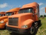 2007 International 9400I, Orange, Showing 721460 Miles, Vin - 2HSCNAPR07C55