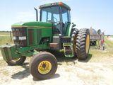 John Deere 7800 Tractor, S/N -  RW7800H017629, HAS BAD TRANSMISSION LINKAGE