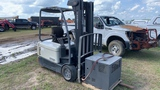THOMPSON CROWN FORKLIFT WITH CHARGER 4000 SERIES S/N 9A136646