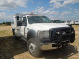 2005 Ford F450 Power Stroke Turbo Diesel with Utility Body, Honda Air Compr