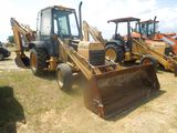 FORD 555D FRONT END LOADER WITH BACKHOE S/N A421839 HOURS 6591