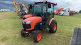 KUBOTA B3350 TRACTOR WITH CAB AND A/C S/N 51472 HOURS AS SHOWN 3531