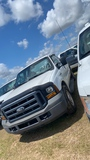 2006 Ford F250, White, Vin - 1FTNX20566ED26759, Showing 58,678 Miles, ALPCO