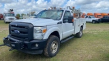 2013 Ford F350, white, Showing 267297 Miles, Vin - 1FDRF3F68DEB46587, ALPCO