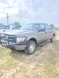 2010 Ford F150 Extended Cab, 4x4, White with Tool Boxes, Showing 219399 Mil