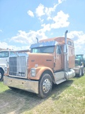 1996 INTERNATIONAL EAGLE WITH SLEEPER, GOLD, VIN 2H5FBAMR2VC025136, 968365