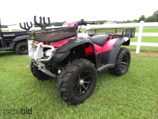 2008 Honda 500 4WD ATV (No Title - $50 MS Trauma Care Fee Charged to Buyer)