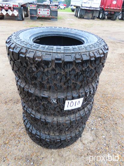 (4) Kenda LT285/70R17 Tires