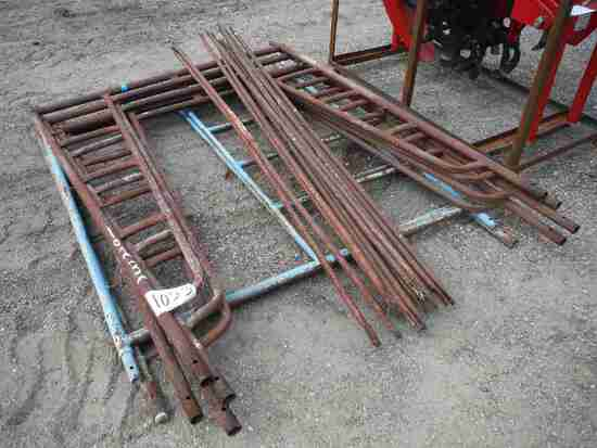 (6) Pieces of Scaffolding