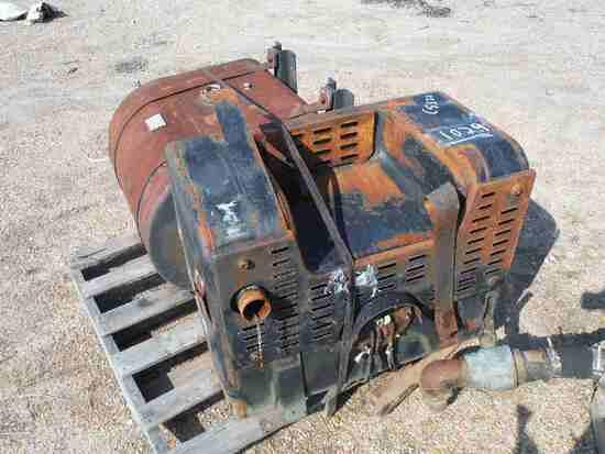 (2) Steel Tanks