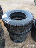 (4) Michelin LT265/70R17 Tires